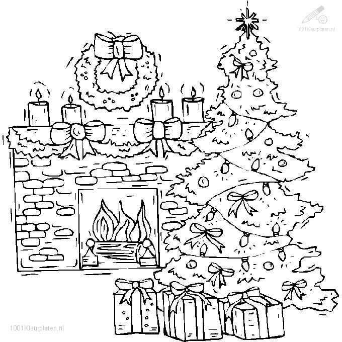 christmas coloring pages detailed