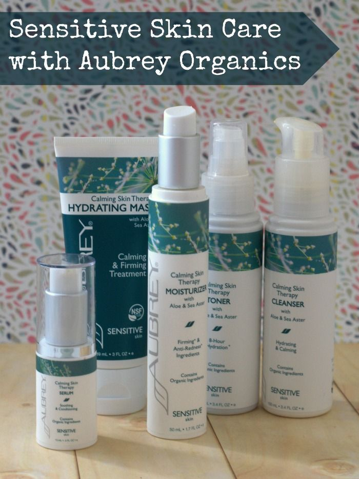 When you have sensitive skin, it can be difficult to find great products, Aubrey Organics has changed that with their Calming Skin Therapy skin care line
