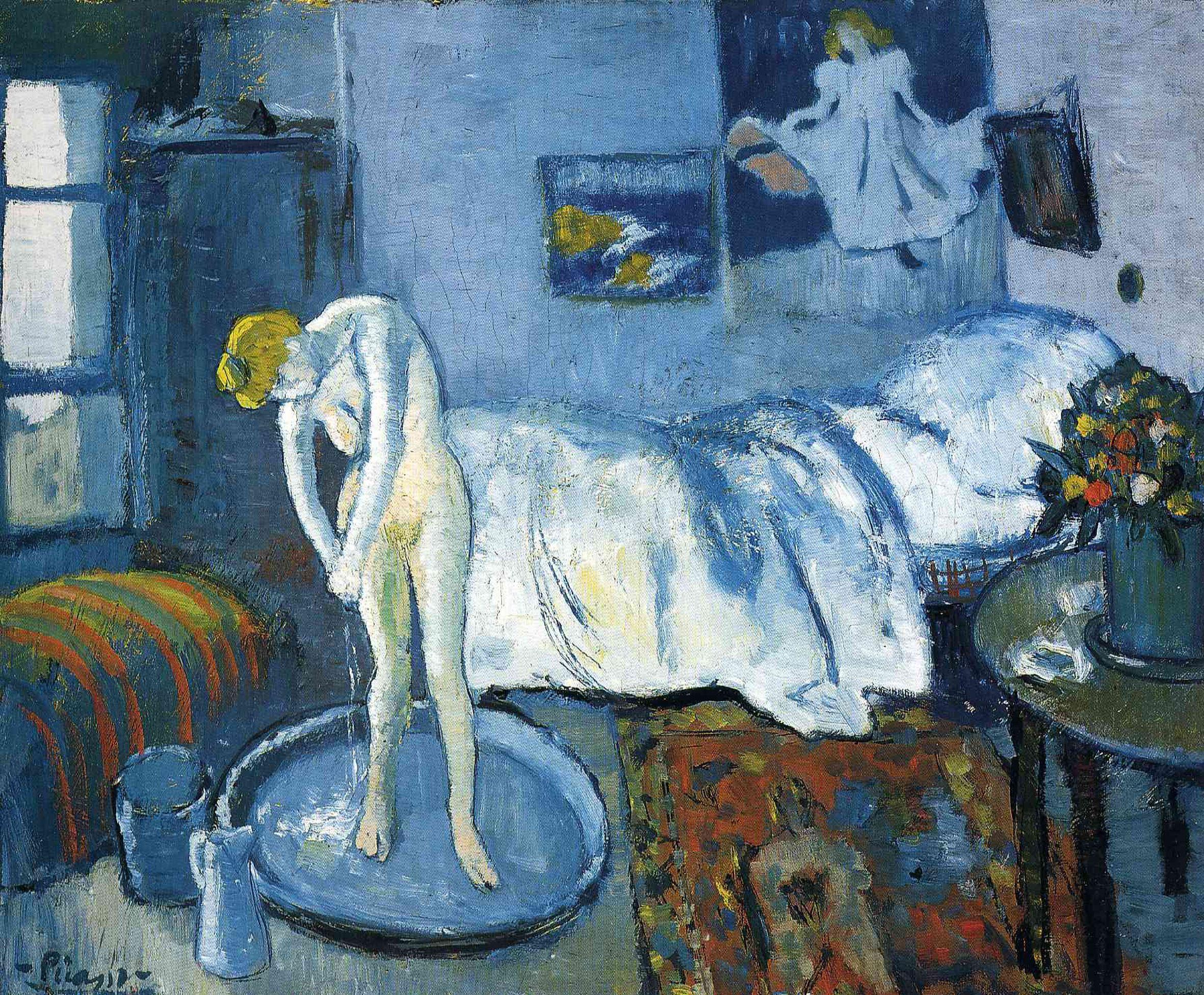 La chambre bleue 1901 par Pablo Picasso 1881 1973