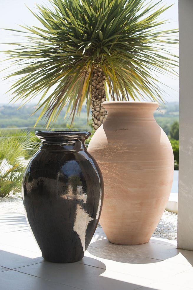 La jarre déco est directement inspirée des jarres à vin, Elégante et  raffinée, elle 5dddbb0980da