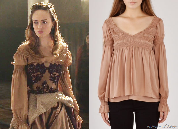 """In the episode 2x10 (""""Mercy"""") Princess Claude wears this To Be Adored Smocked Karlie Blouse ($264)."""