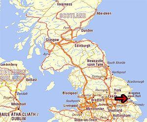 Map Of Uk Hull.Kingston Upon Hull Where I Am From All Things English Hull
