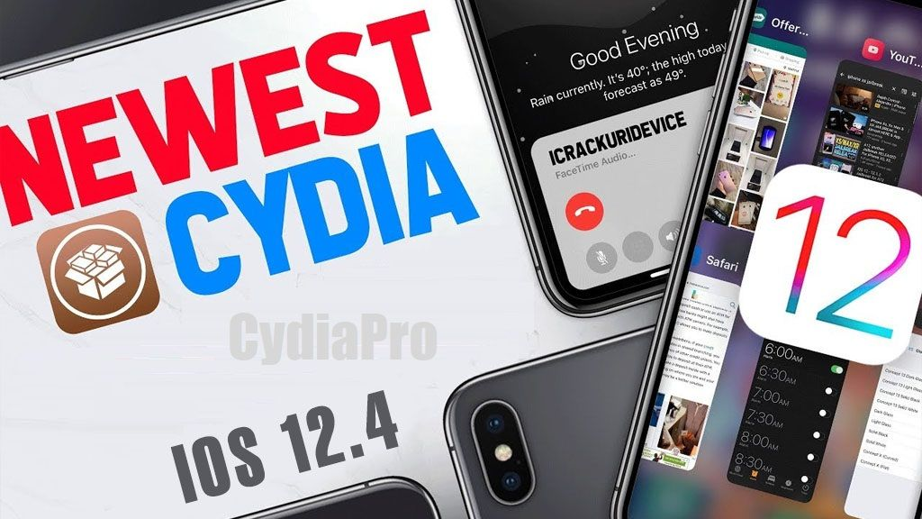 Instant Download Cydia iOS 12.4 and below running devices