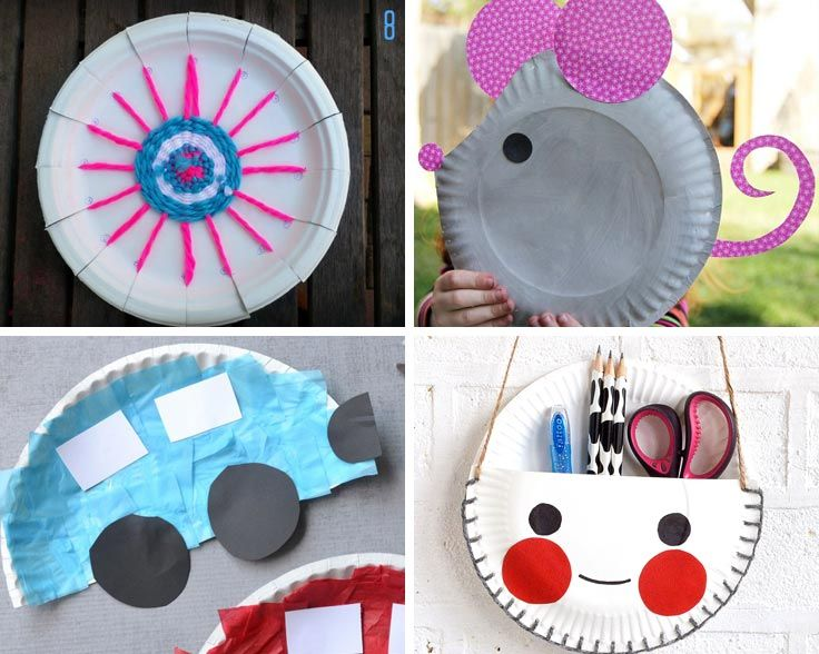 Charming Different Craft Ideas For Kids Part - 2: 12 Super Easy Paper Plate Crafts For Kids Of All Ages To Enjoy!