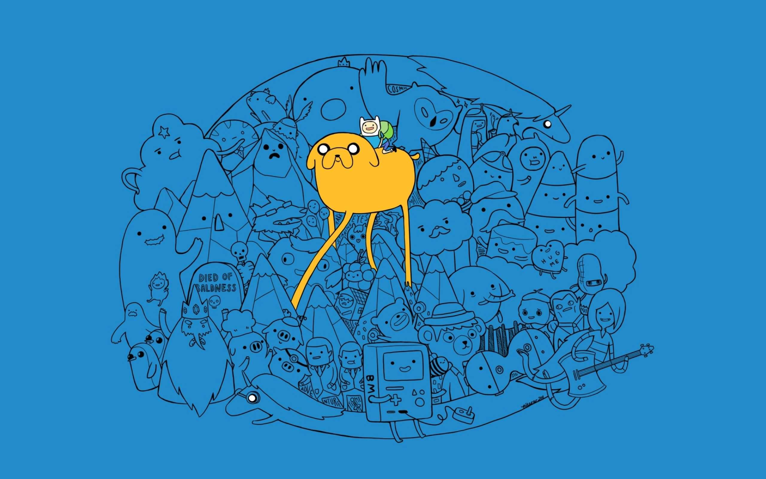 Jake Adventure Time Network With Finn And The Human Dog