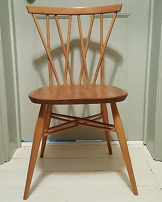 Original Vintage Ercol 1960s Original Windsor Chiltern Candlestick Chair  Stamped In Home, Furniture U0026 DIY