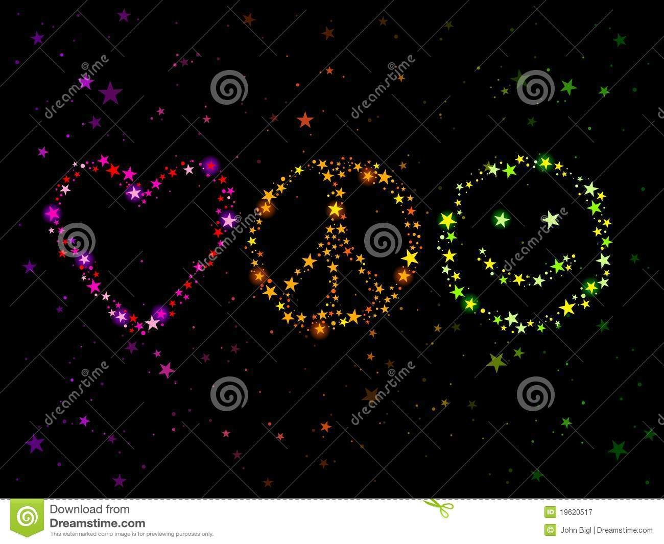 Peace Love And Happiness Icons Black White Quoteko Com Peace And Love Peace Love Happiness Peace
