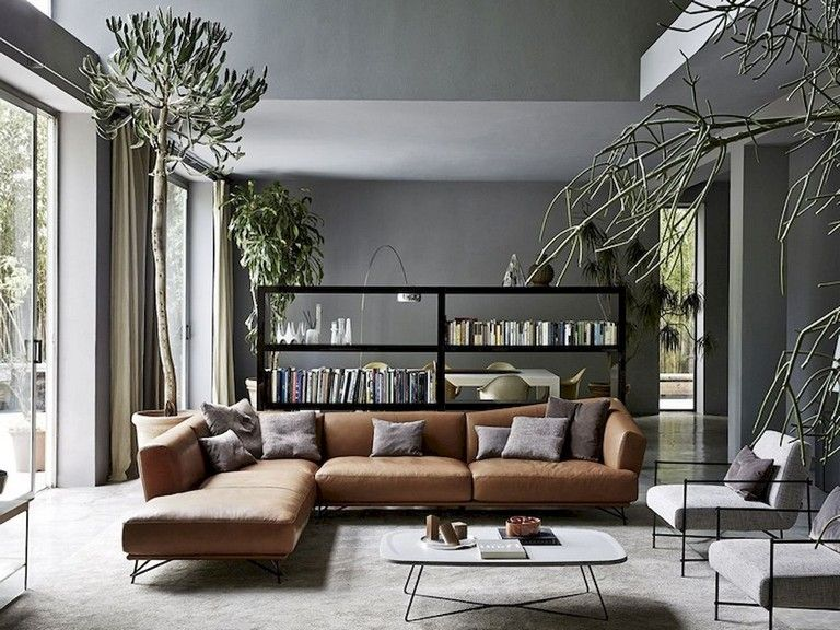 65 PRETTY AND COMFORT MODERN CORNER SOFA FOR LIVING ROOM images
