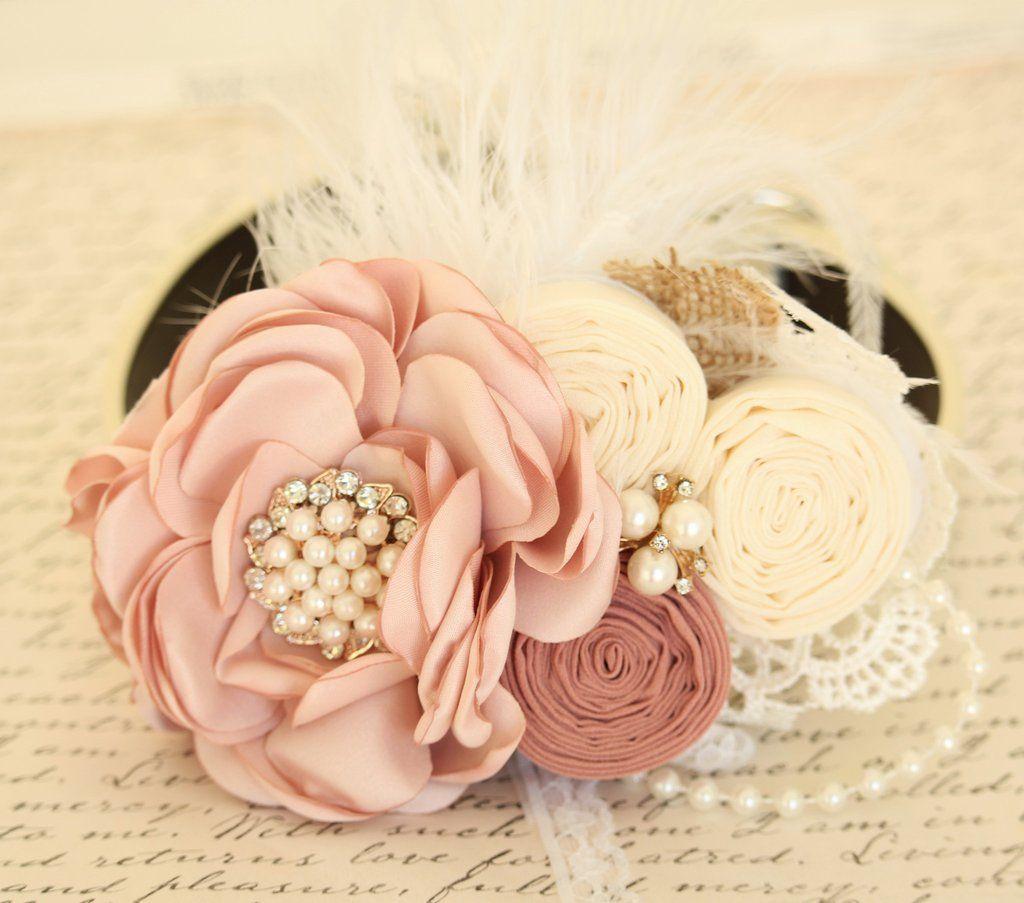 Wedding accessories pearls flowers pearls - Pearl Blush Flower Dog Collar Dog Birthday Gift Pet Wedding Accessory Pearls