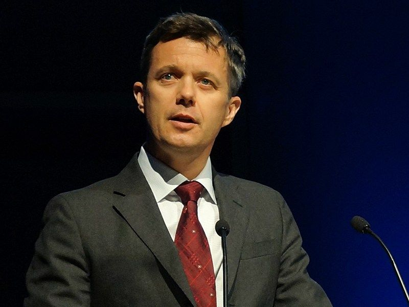 Crown Prince Frederik will act as regent of Denmark while his