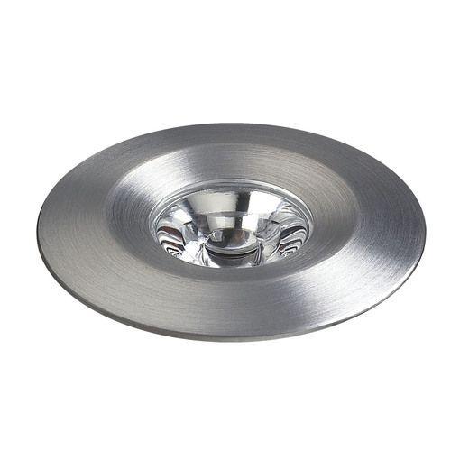 Cornerstone Lighting Alpha 1 Light Diameter Led Puck And On Brushed Aluminum Indoor Under Cabinet Lights