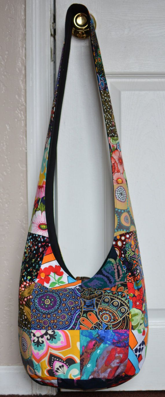 d9b41ee535 Hobo Bag Crossbody Bag Sling Bag Hippie Purse Boho by 2LeftHandz ...