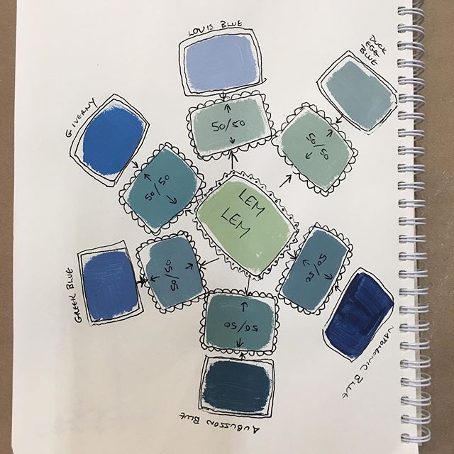 Simple Elegant gorgeous Chalk Paint color Lem Lem Lem Lem has been mixed approximately 50 50 with the beautiful blue shades Napoleonic Blue Aubusson Blue Top Search - Best of shades of blue paint colors Luxury