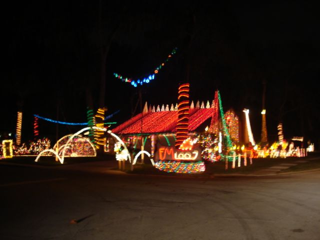Awesome Christmas Light Displays In Port Orange Volusia County Moms Daytona Beach Family Events New Smyrna