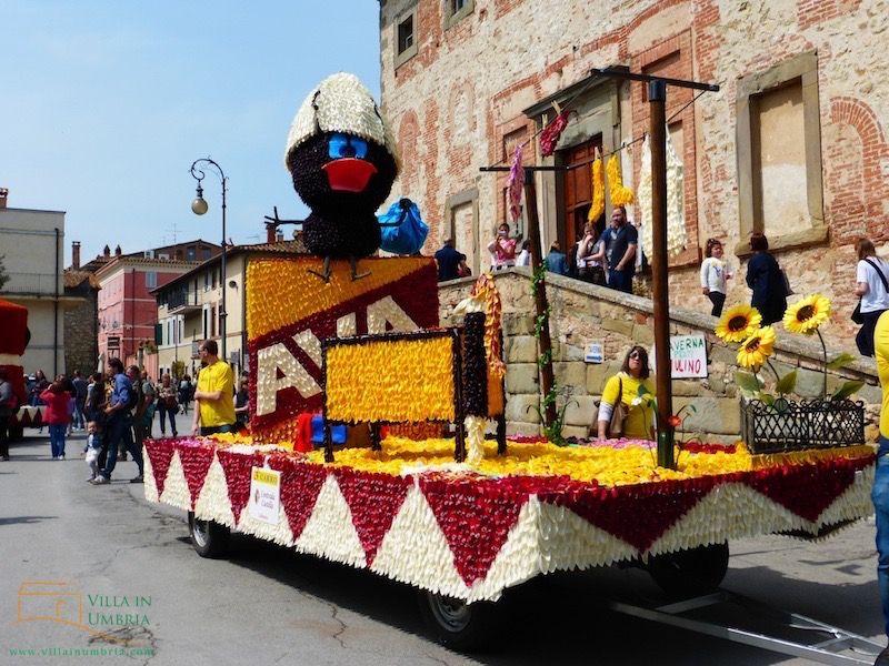 La Festa del Tulipano April 10, 2016 in Castiglione del Lago
