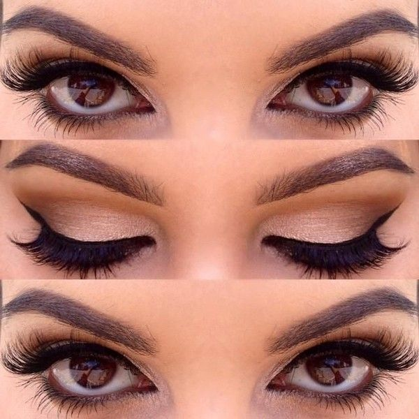 Soft Brown Eyes Liked On Polyvore Featuring Beauty Products Makeup Eye Makeup Eyes Brown Eye Makeup Brown Cosmetics And Br Eye Makeup Makeup Skin Makeup