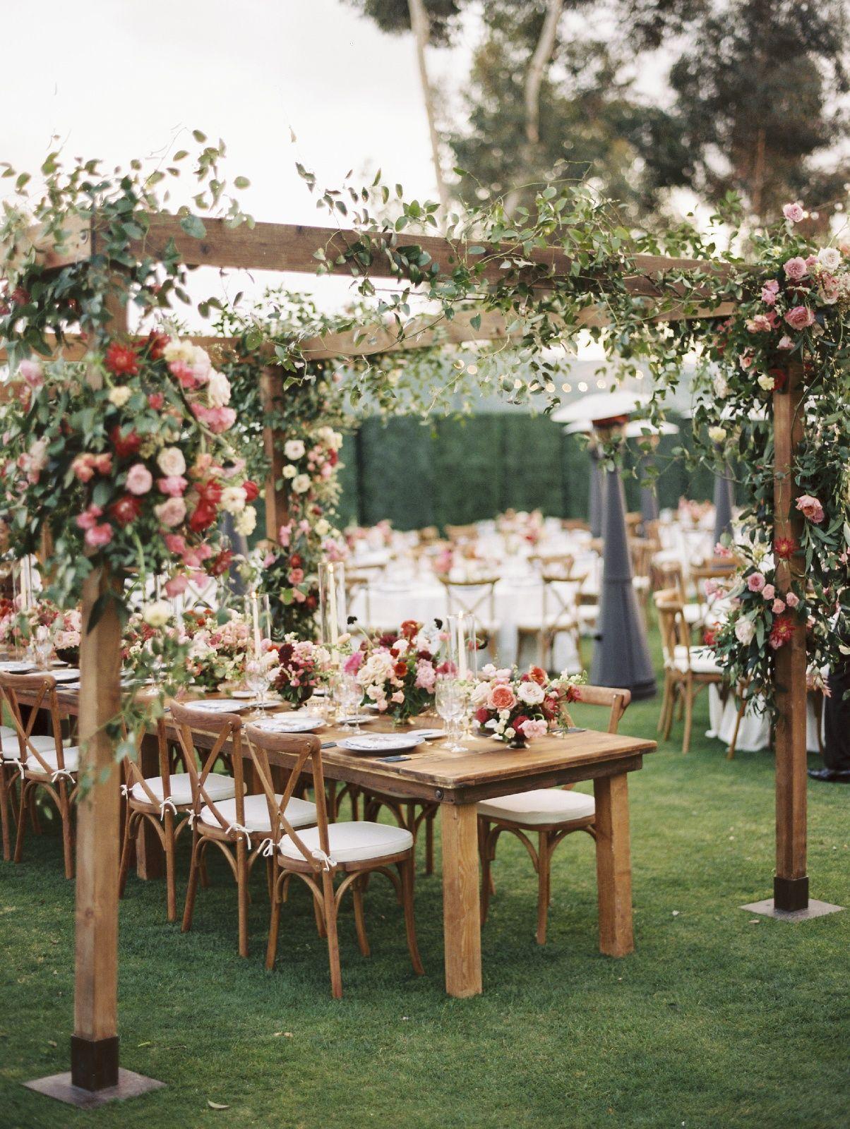 Farm Tables And More Rustic Table Decor Beachside Wedding Wedding Spot