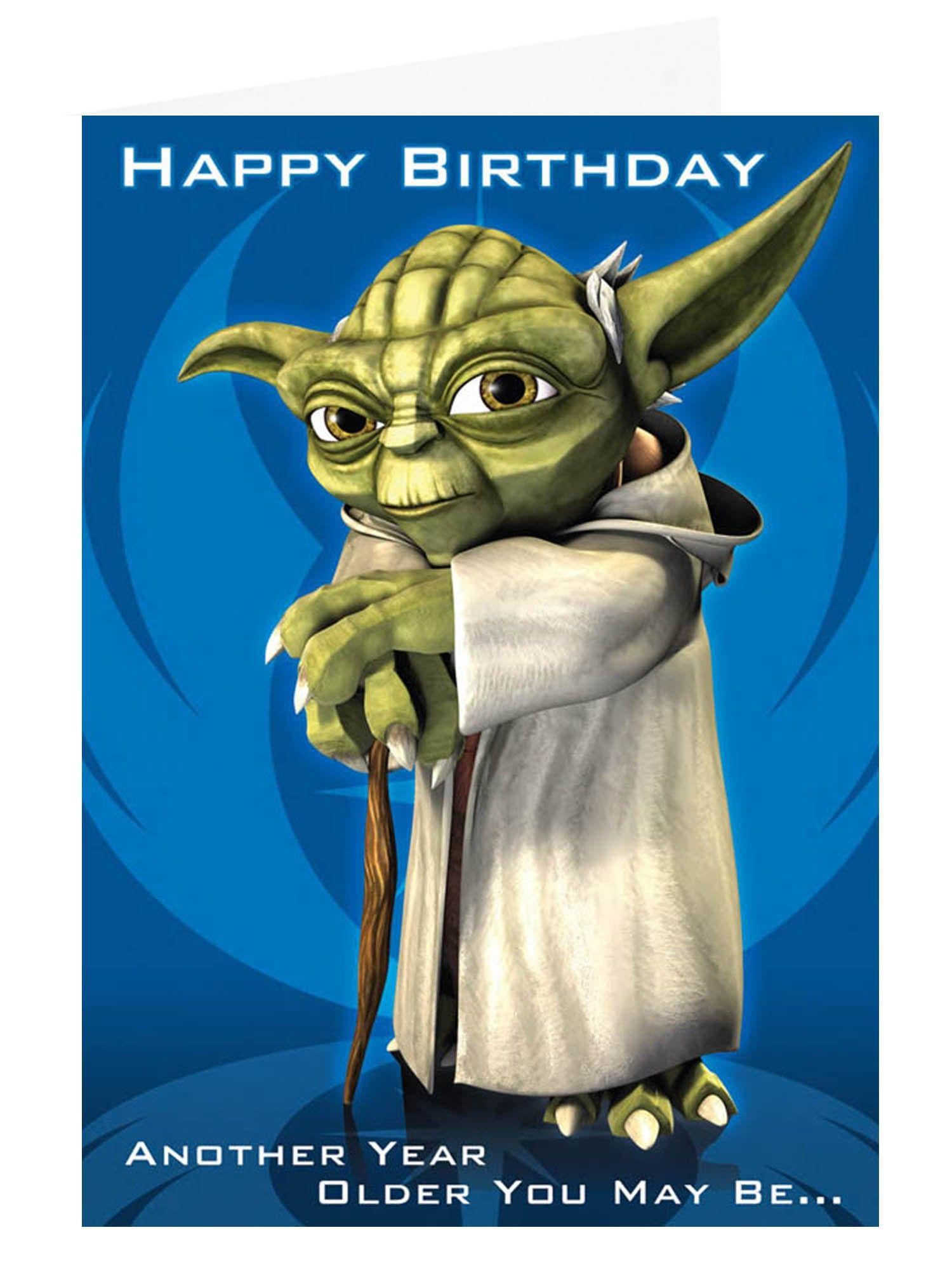 Yoda Birthday A A A A Birthday Wishes Pinterest Birthdays