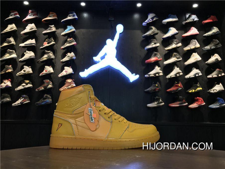 39a2b21ca128 Air Jordan 1 Gatorade Grape AJ5997-555 1 Men Orange Best