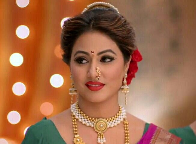Hina Khan Hair Accessories Braids Saree Hairstyles Indian Bridal Hairstyles