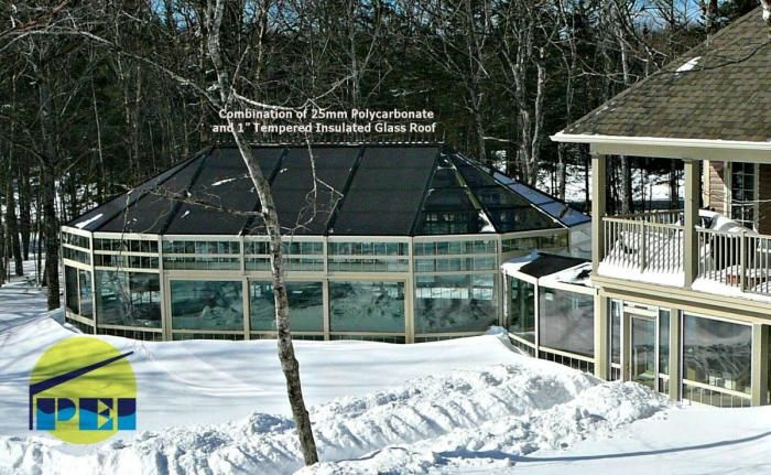Indoor Inground Pool minnesota pool enclosures, mn., pool domes residential commercial