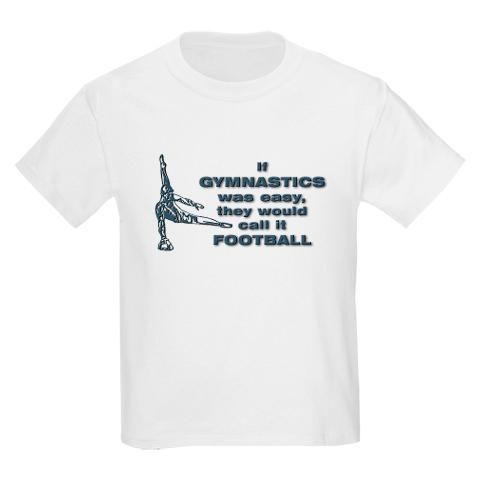 be16fb7b0fd28 Boys Gymnastics T-Shirt - If Gymnastics was easy they would call it ...