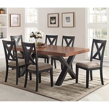 Calix 7 piece Dining Set Dining Room Pinterest