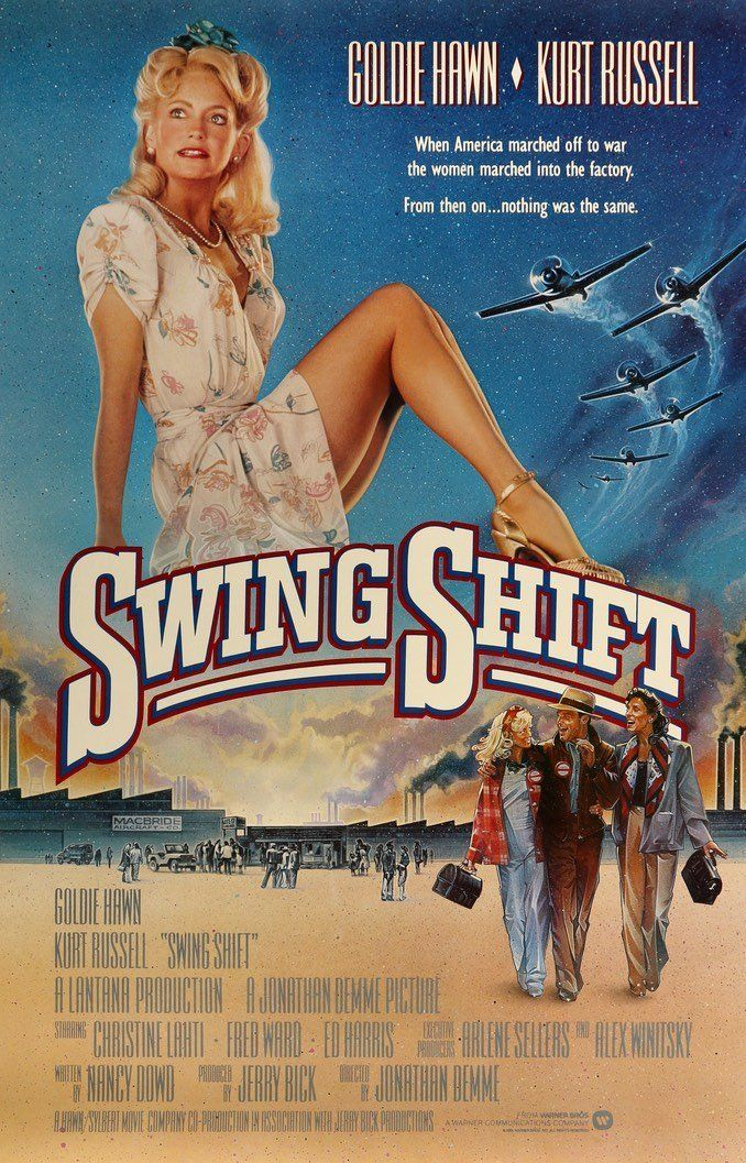 Swing Shift (1984) Movie posters, Original movie posters