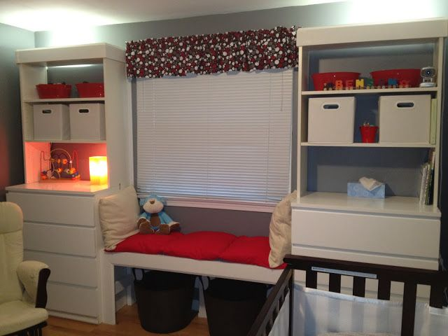 Mock Built Ins With Malm And Billy Ikea Kids Room Ikea Hack Bedroom Kids Room Furniture