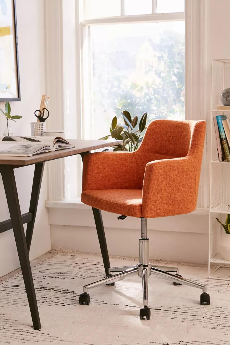 Aidan Adjustable Desk Chair In 2020 Desk Chair Comfy Adjustable Desk Cool Desk Chairs