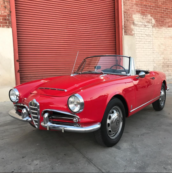 Afraid Of Spiders Not Anymore 1965 Alfa Romeo Giulia 1600 Spider