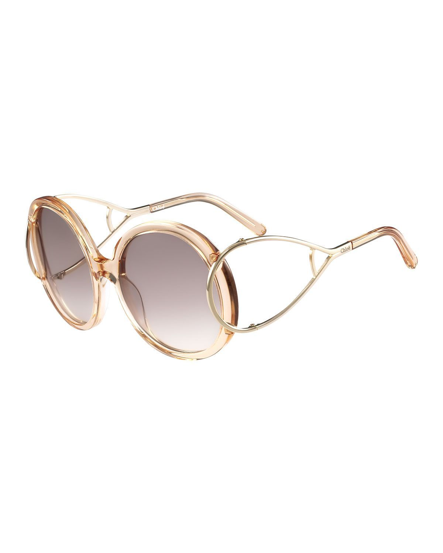 30417470131 Jackson Round Oversized Sunglasses