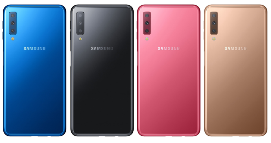 Samsung's Galaxy A7 (2018) is a midrange phone with