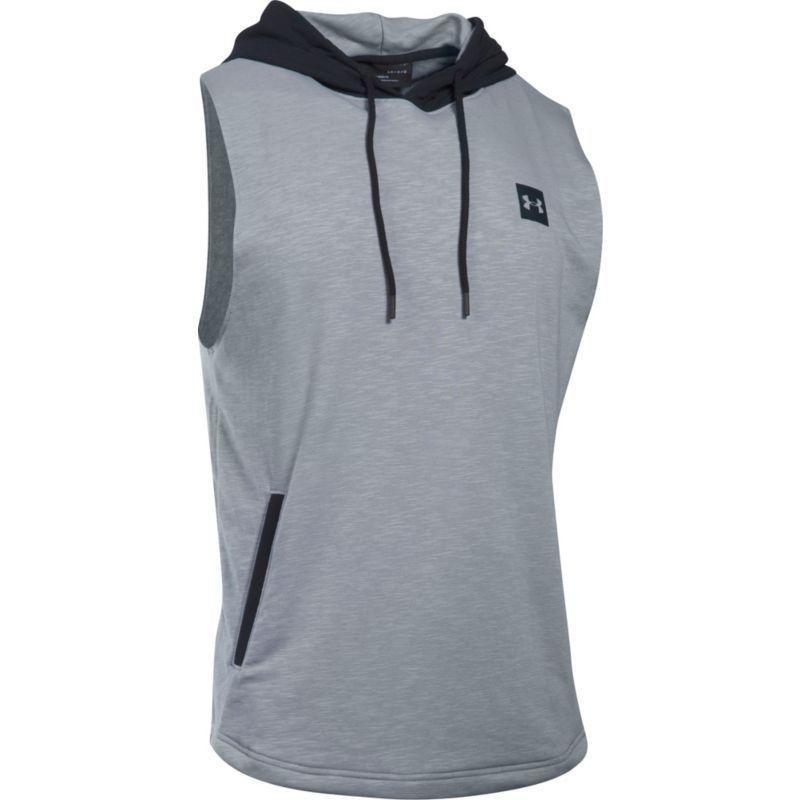d104f2486 Under Armour Men's Sportstyle Sleeveless Hoodie, Size: Medium, Gray