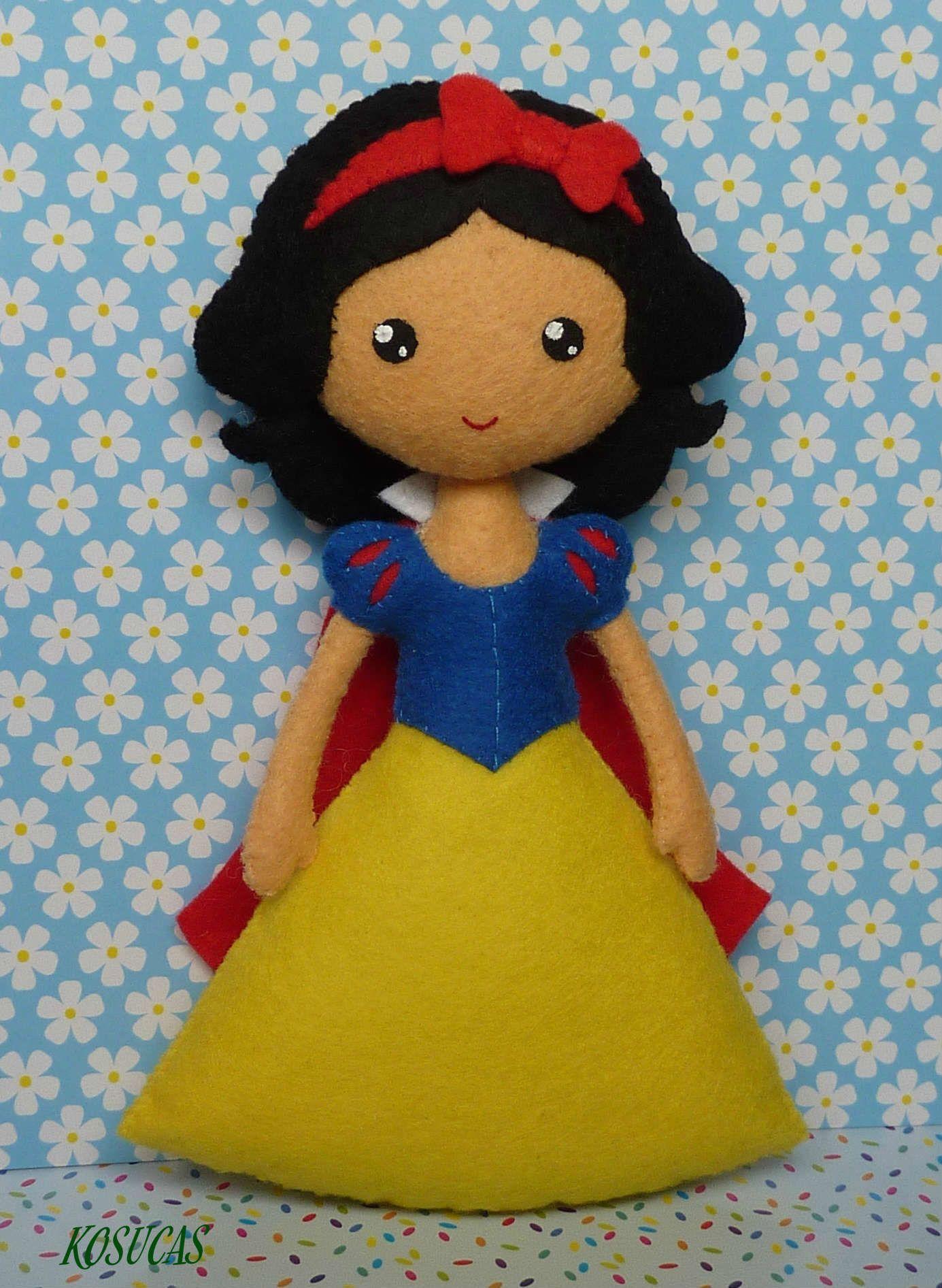 Snow White Felt dolls toys etc Pinterest