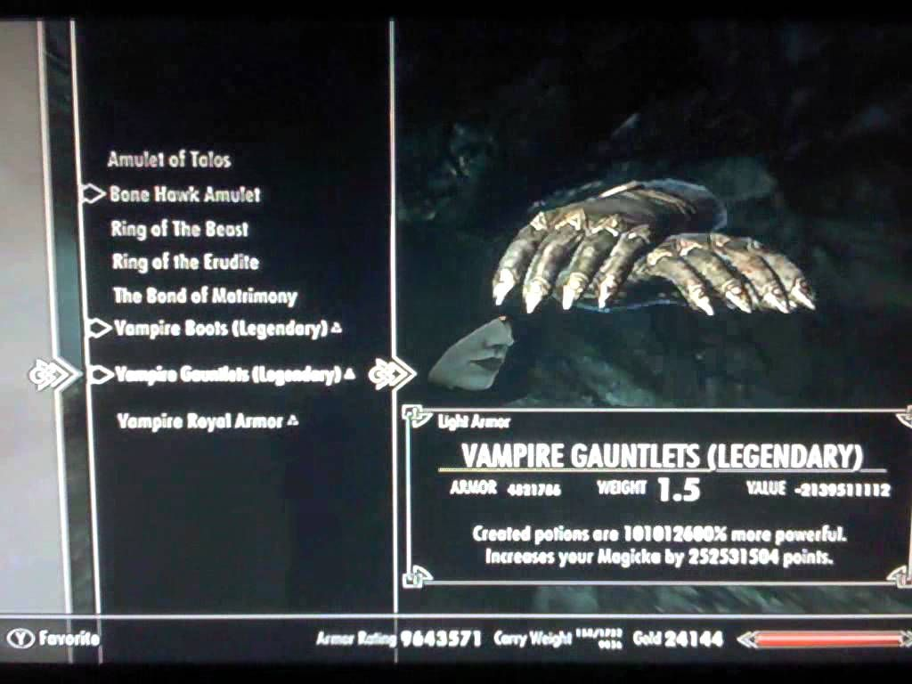 Skyrim Dawnguard HYBRID How to become a Vampire Lord