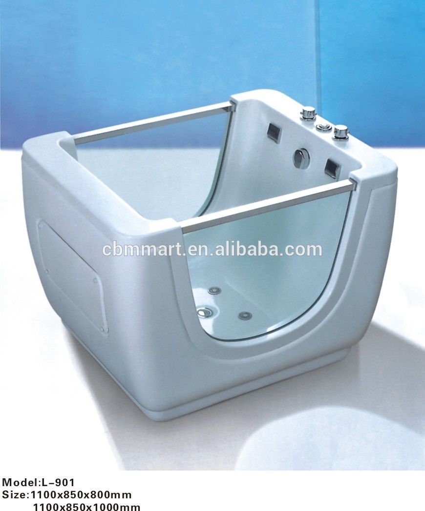 Children bathtub glass acrylic baby bathtub with factory price ...