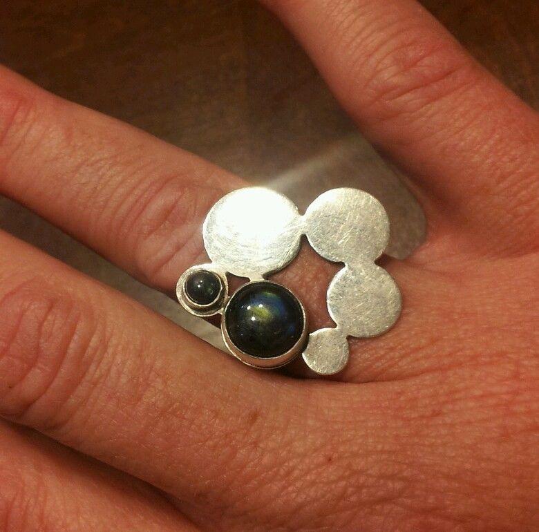 Kaunis Koru Sterling Silver Ring