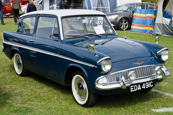Ford Anglia 105e1959 67 Second Car I Owned In This Colour Bought