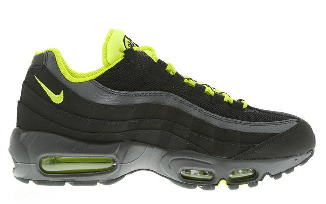 newest 7cdeb a23a9 Nike Air Max 95 (Anthracite, Dark Grey   Venom Green)