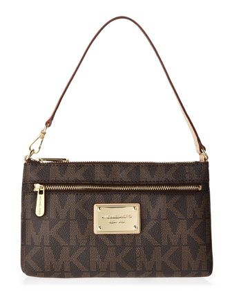 MICHAEL Michael Kors Jet Set Large Wristlet. (Nice alternative on LV pochette...same beauty!)
