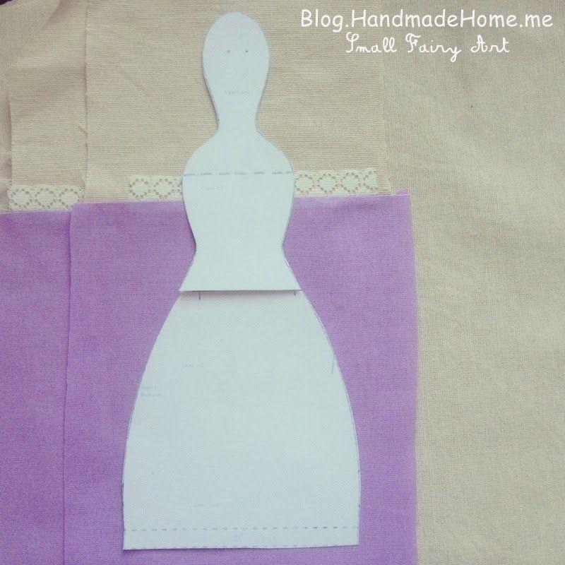 A mano Home Blog - Una magia piccolo Workroom: come cucire Tilda Angel Doll - tutorial dettagliato