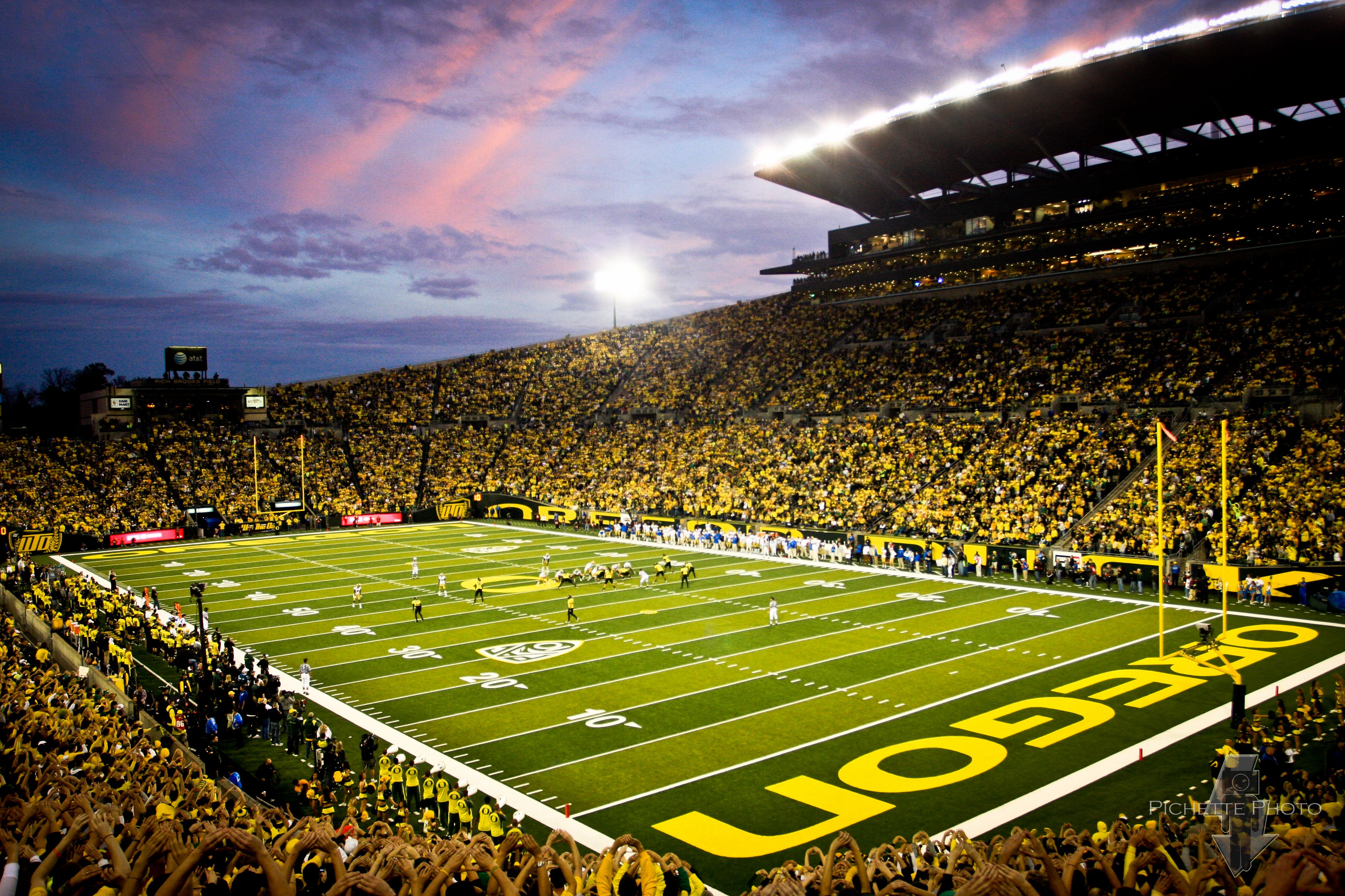 Autzen Stadium Eugene Oregon University of Oregon Ducks
