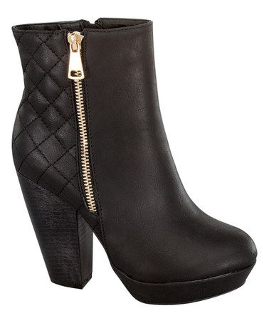 Another great find on #zulily! Black Mindy Boot #zulilyfinds