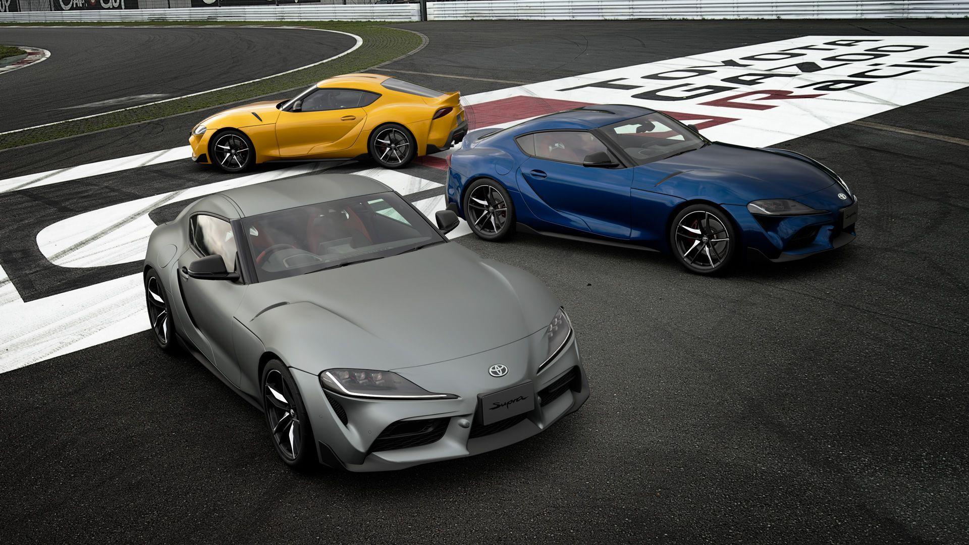 Completa il sondaggio sulla Toyota GR Supra e sblocca in