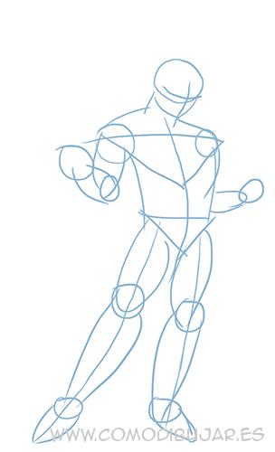 como dibujar a goku paso 3 http comodibujar es dibujar