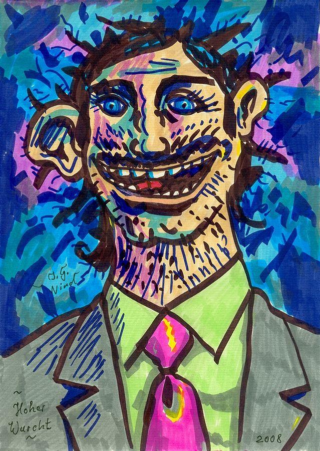 hoher wurcht high wurcht 2008 by j g wind psychologisches portrat punk