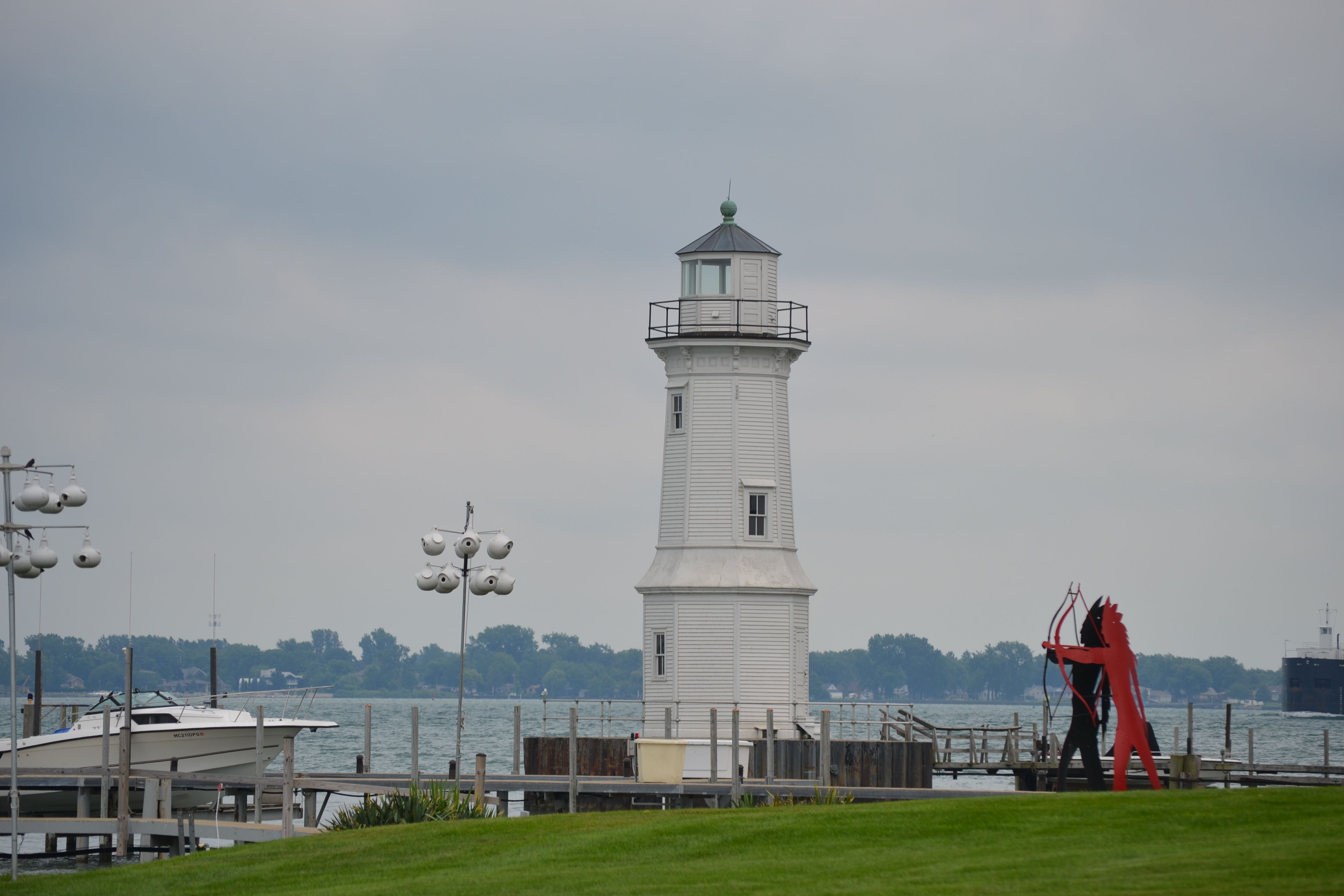 This Is The Grosse Ile Lighthouse In Grosse Ile Michigan It Is