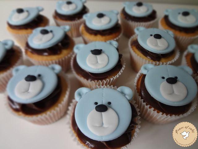 Cupcakes urso / Bear cupcakes