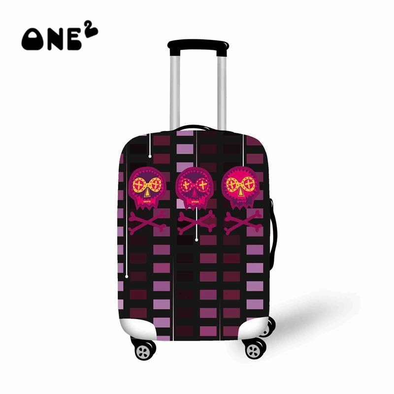 be74f7f03ea 2015 Japanese Style Skull  Kimono Printing Spandex luggage cover Travel  Accessories Protector Suitcase Apply to 22